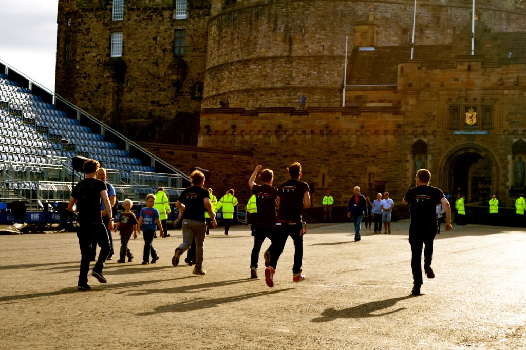 An ill-advised and late in the day attack on Edinburgh Castle.